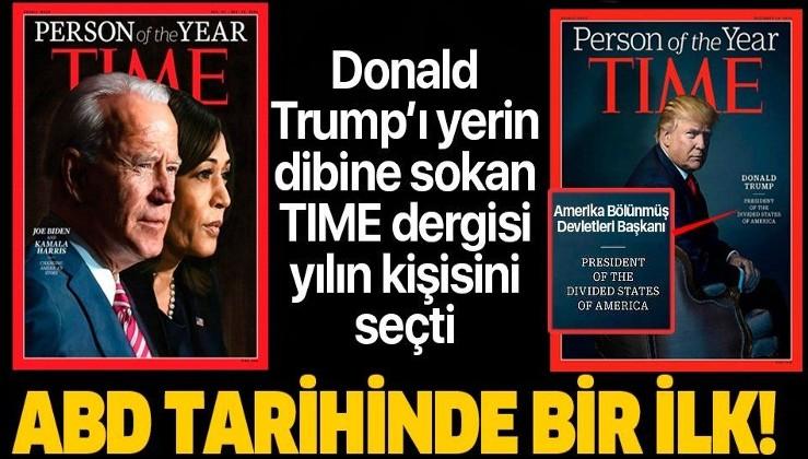 SON DAKİKA: Time dergisinden ABD tarihinde bir ilk: 'Yılın Kişisi' Joe Biden ve Kamala Harris seçildi