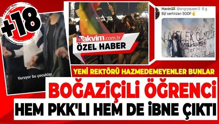 """Boğaziçi Üniversitesi önündeki şiddet olaylarında bir öğrenci """"hem PKK'lı hem de ibneyim"""" dedi"""