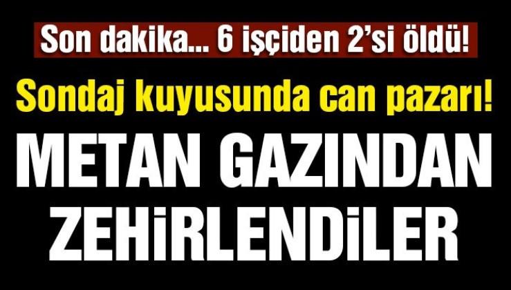 Bursa'da sondaj çalışmasında işçiler zehirlendi!