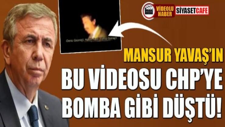Mansur Yavaş'ın bu videosu CHP'ye bomba gibi düştü!