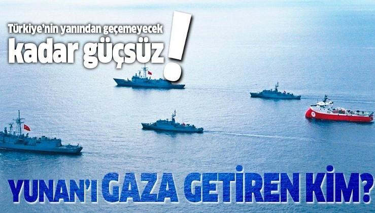Yunanistan'ı Doğu Akdeniz'de gaza getiren kim?