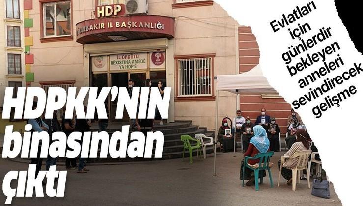 Diyarbakır'da HDP İl Başkanlığı binasından teröristlerin sicil bilgilerinin yer aldığı ajanda bulundu