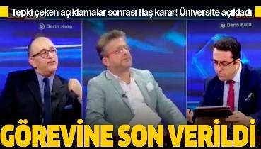 Son dakika: İstanbul Aydın Üniversitesi, Prof. Dr. Muttalip Kutluk Özgüven'in görevine son verdi