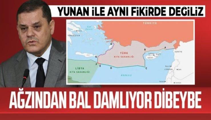 Libya Başbakanı Dibeybe: Libya ve Türkiye arasındaki deniz anlaşması konusunda Yunanistan ile aynı fikirde değiliz