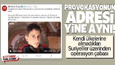 Yine BBC Türkçe, yine provokasyon