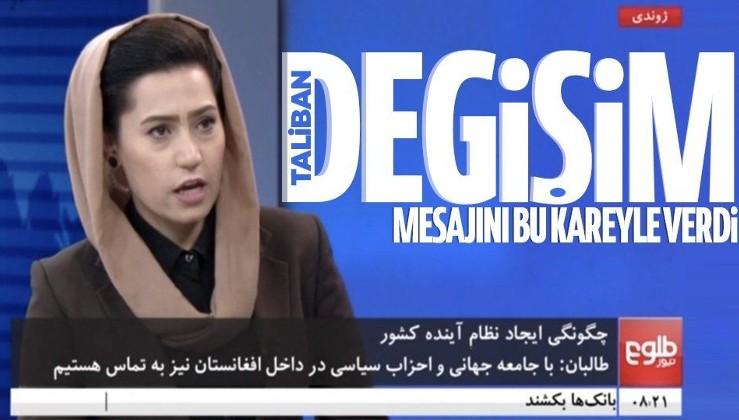 Taliban sonrası kadın sunucular yeniden Afganistan'da ekranlara çıkmaya başladı