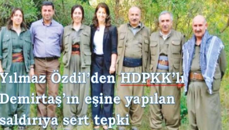 Yılmaz Özdil'den Demirtaş'a yapılan saldırıya sert tepki!