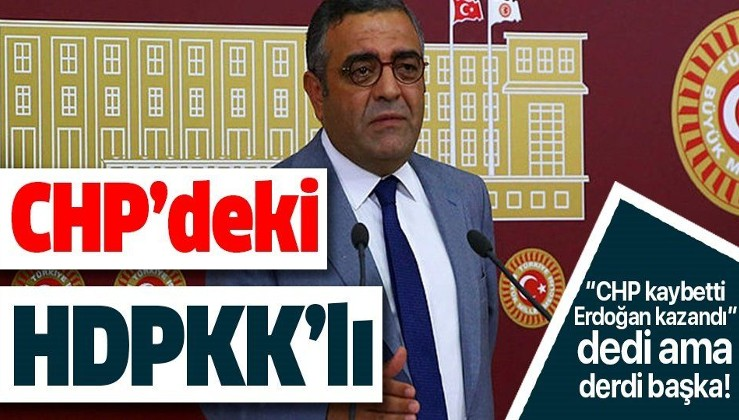 CHP'deki HDPKK'lı Sezgin Tanrıkulu yine bir işler peşinde!