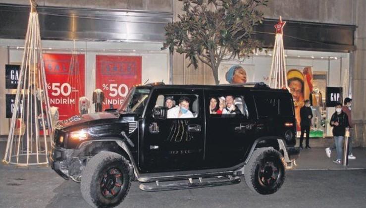 Etiler'de yaptığı trafik kazasında ölümden dönen Enes Batur aracını değiştirdi