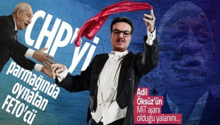 Nedim Şener: CHP'yi parmağında oynatan MİT imamı FETÖ'cü: Salim Zeybek!