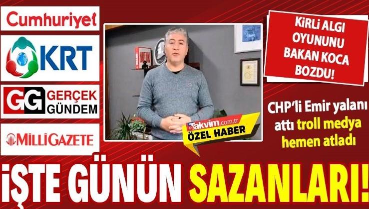 CHP'li Murat Emir yalanı attı, troll medya sazan gibi atladı! Berat Albayrak üzerinden oluşturulan kirli algı oyunu bozuldu