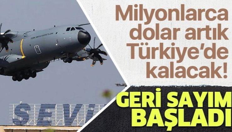 """""""Koca Yusuf"""" olarak bilinen A-400 M'lerin güçlendirilme faaliyetleri ilk kez Kayseri'de yapılacak! Milyonlarca dolar tasarruf ve gelir"""