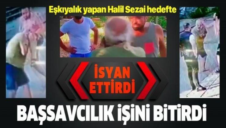 Son dakika: Başsavcılık, yaşlı adamı döven Halil Sezai'nin 4 suçtan ifadesini alacağını açıkladı