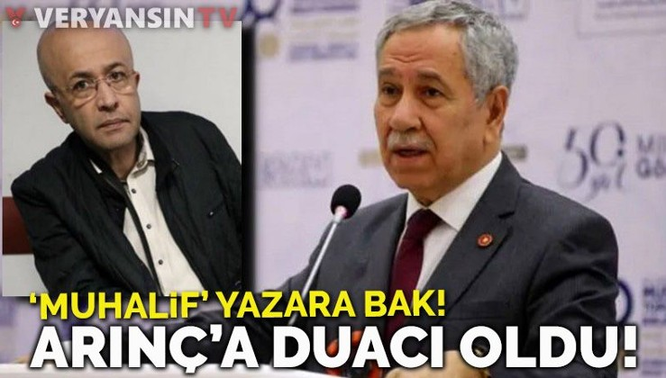 Abdullah Gül'ün Başdanışmanı Sözcü yazarından Arınç'a güzellemeler