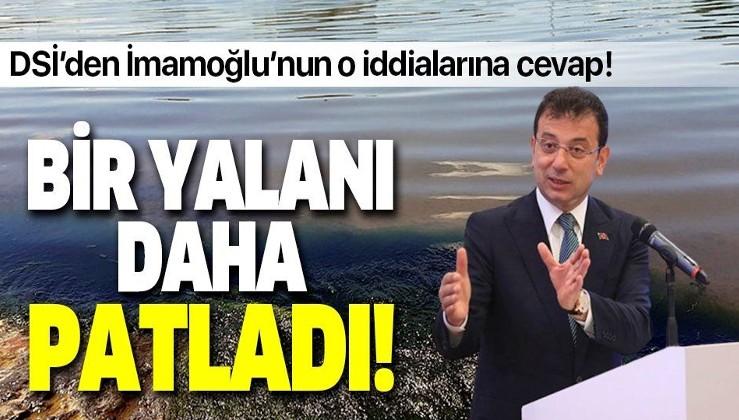DSİ'den İBB Başkanı Ekrem İmamoğlu'nun Riva iddiasına açıklama!