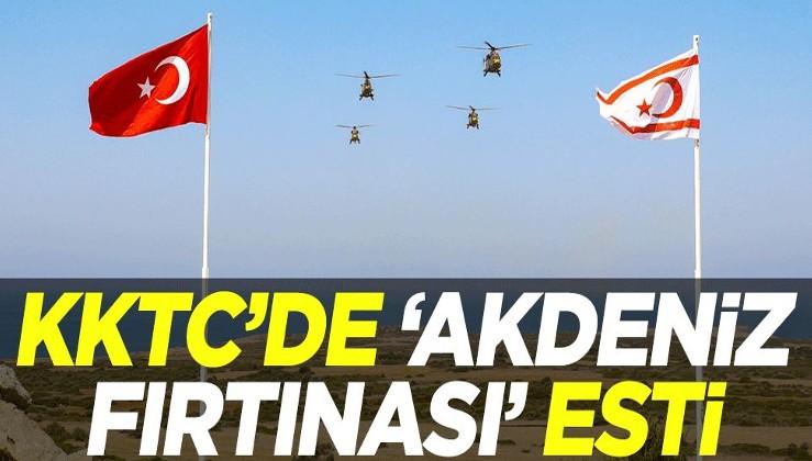 KKTC'de 'Akdeniz Fırtınası' esti