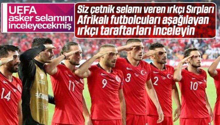 A Milli Takımın asker selamı UEFA'yı rahatsız etti