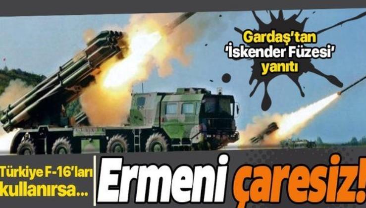 Çaresiz kalan Ermenistan tehditler savurdu! Türkiye F-16'ları kullanırsa...