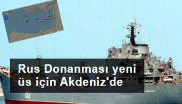 Rus Donanması'ndan Akdeniz çıkarması