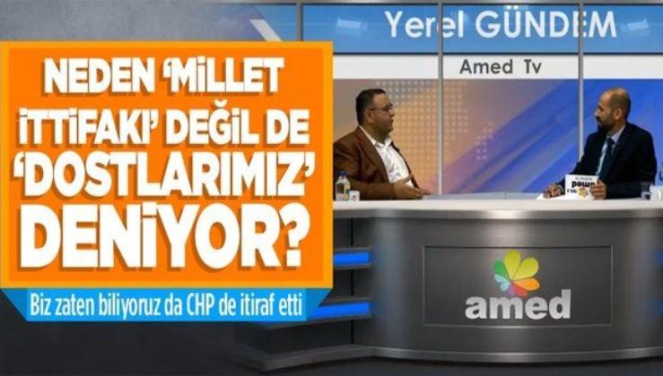 """Sezgin Tanrıkulu'ndan itiraf gibi açıklama: 'HDP ittifakta' diyemediğimiz için """"dostlarımız"""" diyoruz"""