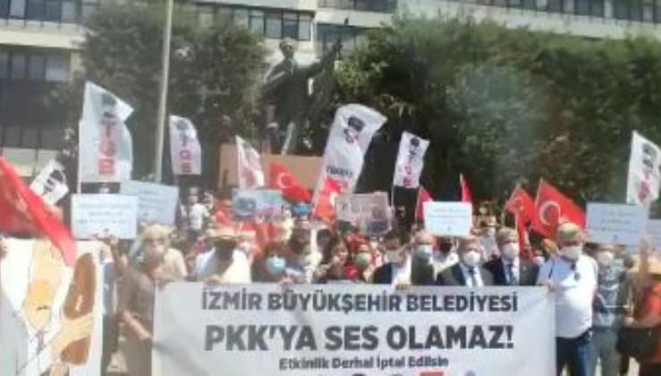 TGB: İzmir Büyükşehir Belediyesi PKK'ya ses olamaz