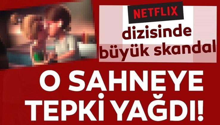 DİKKAT! Netflix'teki yozlaşma çocukları tehdit ediyor