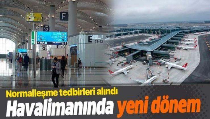 Havalimanında yeni dönem