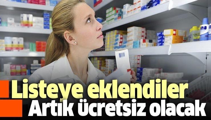 11 ilaç daha geri ödeme listesinde