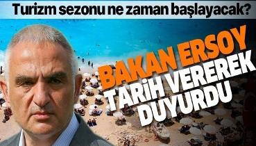 Son dakika: Bakan Ersoy tarih vererek açıkladı: 28 Mayıs'ta turizm hareketi başlar