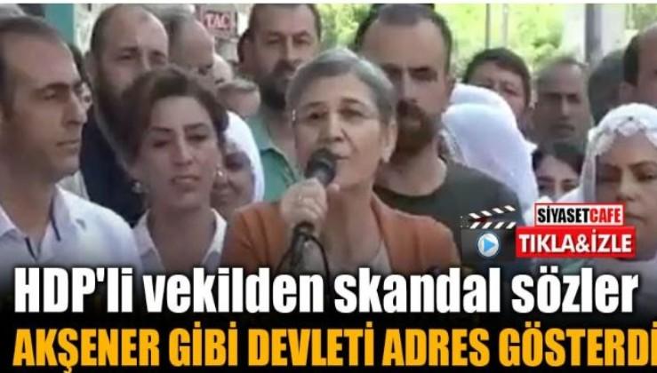 HDP'li vekil PKK ağzıyla tehditler savurdu!