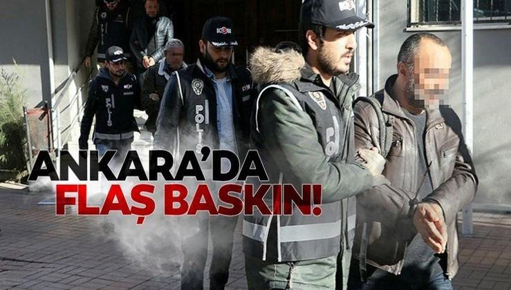 SON DAKİKA: Ankara'da FETÖ operasyonu: 56 gözaltı
