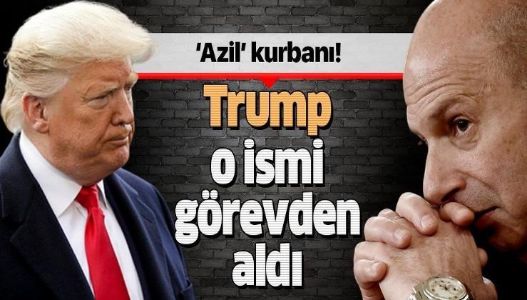 Trump azil soruşturmasında ifade veren ABD'nin AB Büyükelçisi Sondland'i görevden aldı.