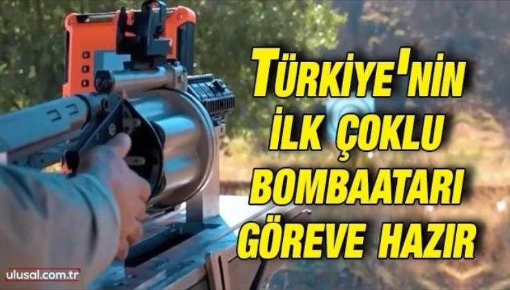 Türkiye'nin ilk çoklu bombaatarı göreve hazır