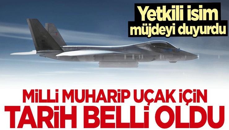 Temel Kotil müjdeyi duyurdu! Milli Muharip Uçak için tarih belli oldu