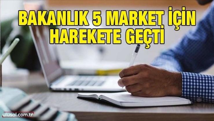 5 zincir markete fiyat incelemesi