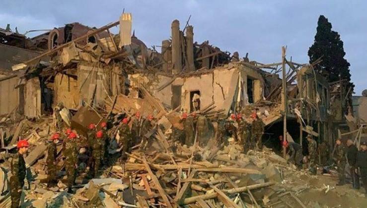 MSB: Azerbaycan Ordusu'ndan kaçan Ermenistan namertçe ve korkakça sivil yerleşim yerlerini vurdu