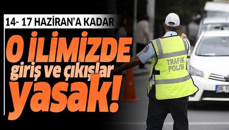 Son dakika: Tekirdağ'a girişler 14-17 Haziran arasında sınırlandırıldı