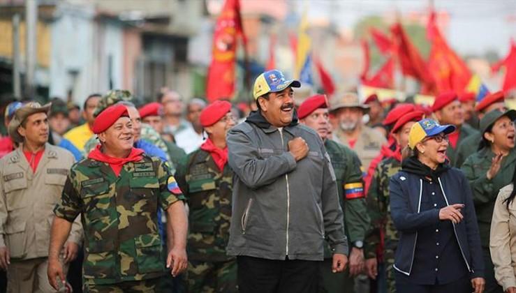 Maduro meydan okudu: Halkımız vatanını savunacak!