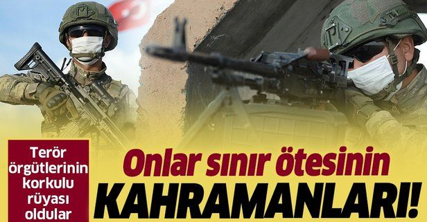 Mehmetçik Suriye'de terör örgütlerinin korkulu rüyası oldu!