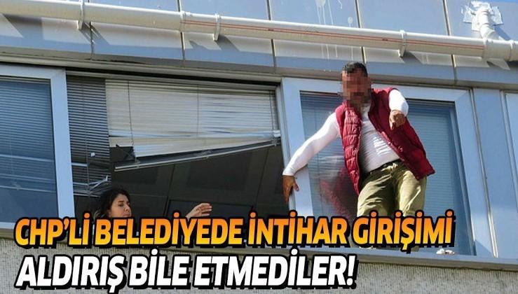 Son dakika: Kadıköy'de CHP'nin belediye binasında intihar girişimi meydana geldi