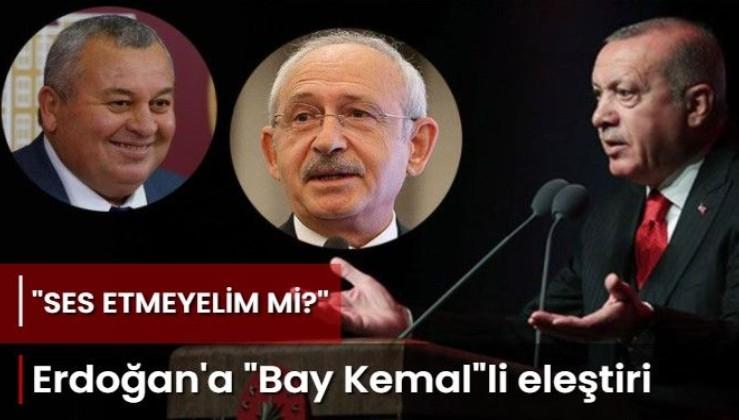 Cemal Enginyurt'tan Erdoğan'a