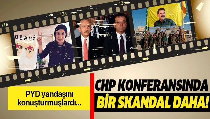 CHP konferansında bir skandal daha!.