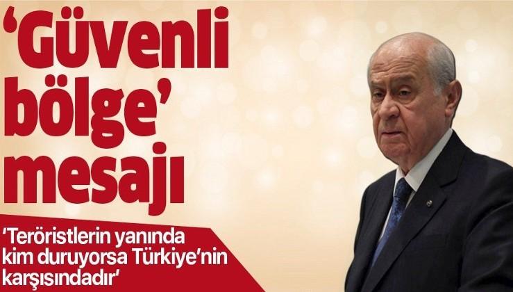 MHP lideri Devlet Bahçeli'den önemli açıklamalar.