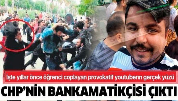 Provokatif youtuber Arif Kocabıyık CHP'nin bankamatikçisi çıktı