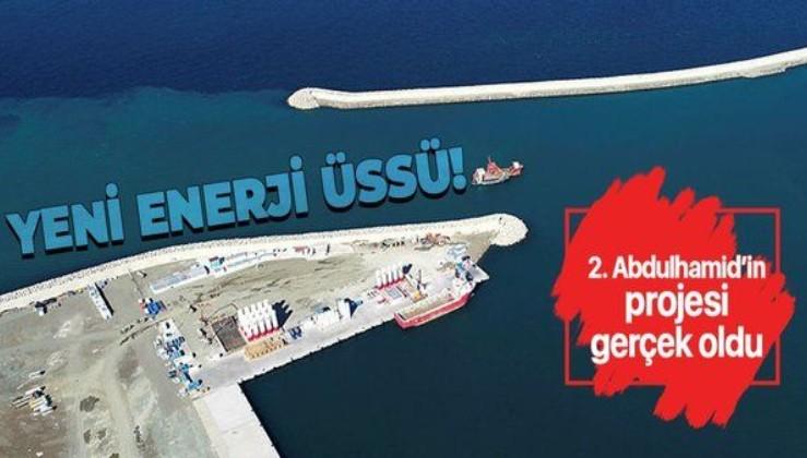 Filyos Limanı enerji üssü oldu