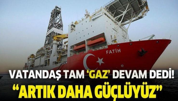 """Keşif sonrası vatandaşın nabzı yoklandı: Yüzde 94 """"Doğal gaz aramaya devam"""" dedi!"""