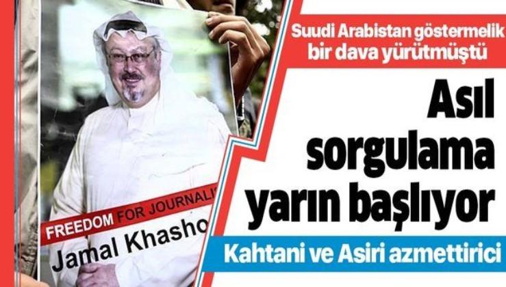 Suudi gazeteci Cemal Kaşıkçı'nın öldürülmesi ile ilgili dava yarın başlıyor
