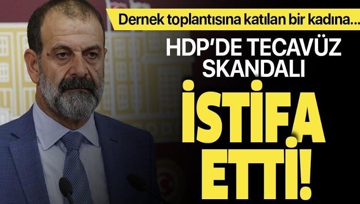 Tecavüz skandalı ortaya çıkan HDP Mardin Milletvekili Tuma Çelik partisinden istifa etti