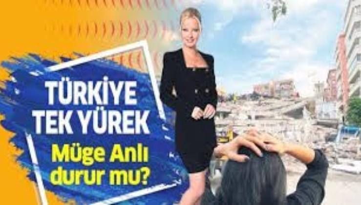 Türkiye tek yürek iken Müge Anlı boş durur mu?