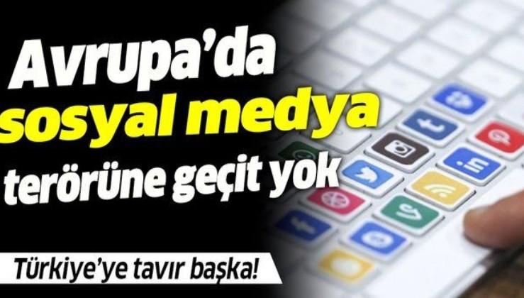Avrupa'da sosyal medya terörüne geçit yok!